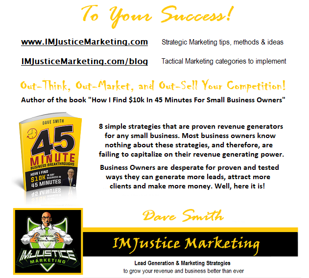 IMJustice Marketing signature with the 10k Challenge book - email style