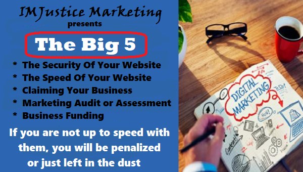 The BIG 5 for the Small Business Owner