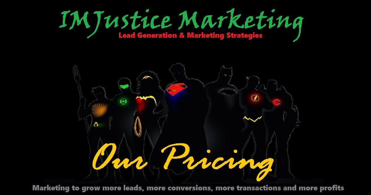 Pricing Our Services