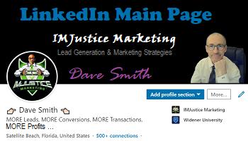 IMJustice Marketing on LinkedIn
