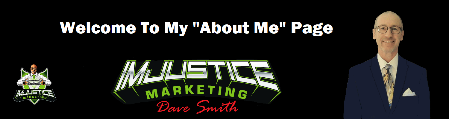 IMJustice Marketing About Me Page