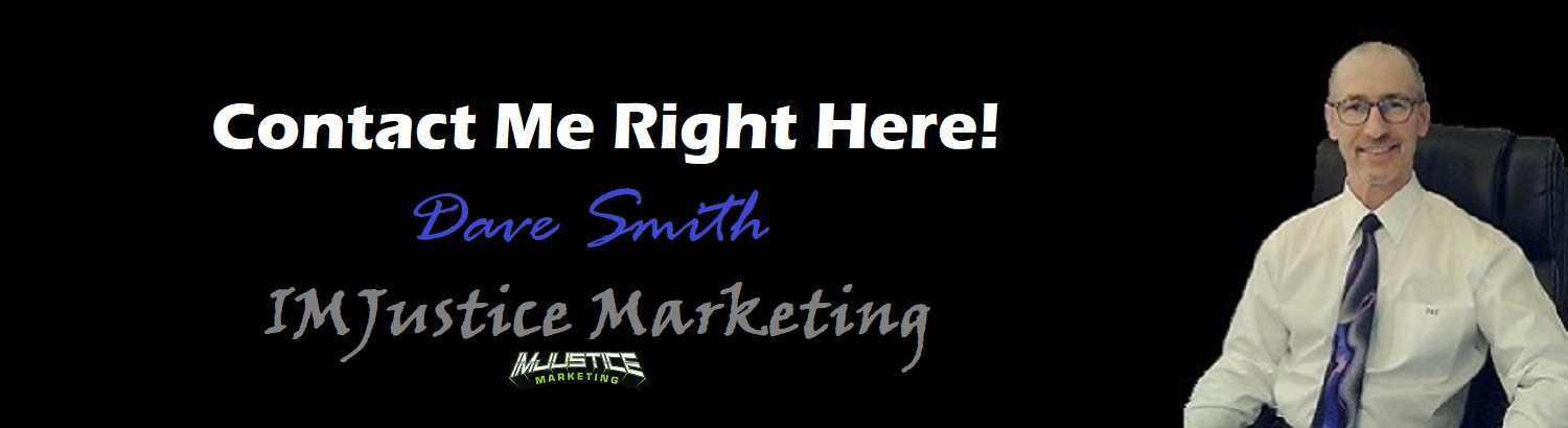 The IMJustice Marketing Contact Me Page