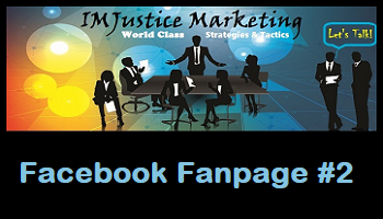 IMJustice Marketing Facebook Fanpage